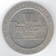 STATI UNITI CASINO TOKEN DOLLAR HOTEL TROPICANA 1966 - Casino