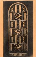 EDGAR BRANDT 1880-1960  Porte En Ferronnerie D'Art  Industriel Armement Puis Electromenager - Art