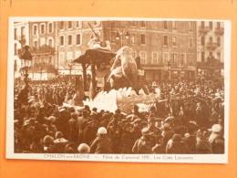 V09-71-B-saone Et Loire-chalon Sur Saone-fetes De Carnaval-1935-les Cites Lacustres-animee - Chalon Sur Saone