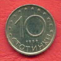 F4251 / - 10 Stotinki - 1999 -  Bulgaria Bulgarie Bulgarien Bulgarije - Coins Munzen Monnaies Monete - Bulgaria