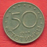 F4258 / - 50 Stotinki - 1999 -  Bulgaria Bulgarie Bulgarien Bulgarije - Coins Munzen Monnaies Monete - Bulgaria
