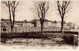 Langogne - Le Quartier Du Pont-Neuf ... - Langogne