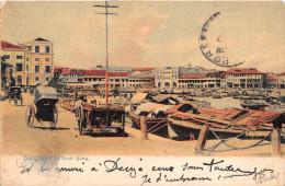 ¤¤  -   SINGAPORE  -  SINGAPOUR  -  Bateaux à Quai  -  Boat Quay   -  ¤¤ - Singapour
