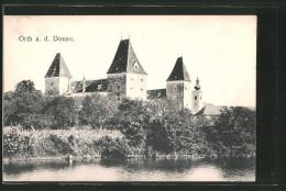 AK Orth A. D. Donau, Blick Zur Burg - Autriche