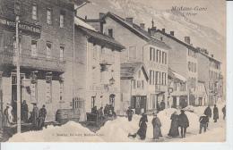 MODANE GARE - L'Hiver - Modane