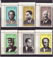 CAMEROUN 1969 - Poste Aérienne - PA N° 138 à 143 - Série De 6 Timbres - Coins De Feuille - Neufs** (Lot 4) - Kamerun (1960-...)