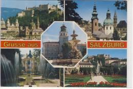 Grüsse Aus SALZBURG -  Mehrfachansicht - Salzburg Stadt