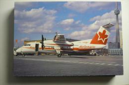 AIR ONTARIO   DASH 8   C FGQI   EDITION PI  N°  720 - 1946-....: Moderne
