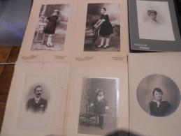 LOT PHOTOS FOTOS FEMME WOMEN ENFANT LYON CASTRES NICE STRASBOURG - Non Classés