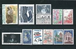 France Timbres De 1980  N°2073 A 2084  Neuf ** Vendu Prix De La Poste - Ungebraucht
