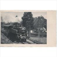 FRCRTPA5758CPA-LFTD4207TTFEO. Tarjeta Postal Ferroviaria.Tren,locomoto Ra T90 De Carbon, - Ferrocarril