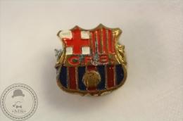 Old Spanish Football Club F.C. Barcelona Badge - Motos