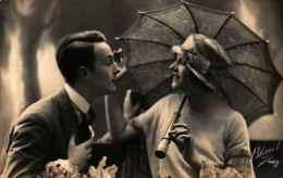 Bleuet 425 - Couple Sous Parapluie - Couples