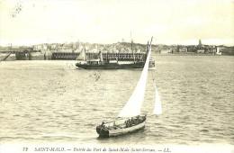 Saint Malo. Entrée Du Port De Saint Malo Saint Servan. - Saint Malo