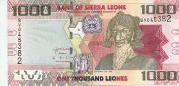 SIERRA LEONE 1000 Leones 2010 UNC P30 - Sierra Leone