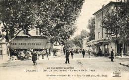 62  *    ORANGE    -   AVENUE  DE  LA  GARE - Orange