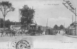 PORTE DE .BAGNOLET      TRAMWAY  ATTELLAGE    PERSONNAGES - Arrondissement: 20