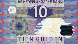 PAYS BAS 10 Gulden 1997 P99 VG+ - [2] 1815-… : Royaume Des Pays-Bas