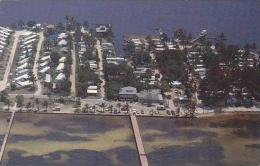 Florida Bokeelia Aerial View Crab Shack Restaurant &amp amp  Gif
