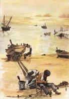 Robert Lepine - Pécheurs - Paintings