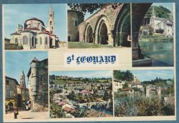 20 SCANS - 87 - SAINT-LÉONARD-DE-NOBLAT   -  La Ville Lot De 10  Cartes Postales Modernes - Non écrites - Ansichtskarten