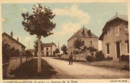 62  *     SAINT MARTIN En BRESSE - Avenue De La Gare - France