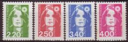 FRANCE - 1991 - YT N° 2714 /2717  -** - Série Complète - France