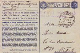 "F M MEDAGLIA D´ORO"""" GIUSEPPE TELLERA """" Stazione Carabinieri Reali Di Paduli 23 3 1943 - 1900-44 Vittorio Emanuele III"