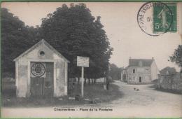 78 CHENNEVIERES - Place De La Fontaine - Other Municipalities