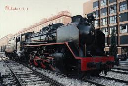 Mikado 1-4-1 - Old Steam Trains Postcard Collector - Trenes