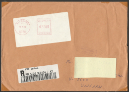 Austria,  Registered  Cover, Douane Label, 1999. - 1991-00 Brieven