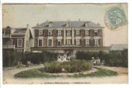 CPA CAYEUX SUR MER (Somme) - L'Hôtel Des Bains - Cayeux Sur Mer