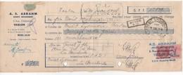 TRAITE A. S. ABRAHM JOUETS MECANIQUES à TOULON (VAR) 1948 - France