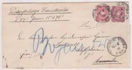 Pologne, Lettre De OSTROVO ,1888,  (p18) - Covers & Documents