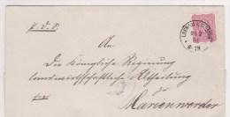 Pologne, Lettre De LOEBAU ,1881,  (p19) - Covers & Documents