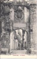 Cpa Fuenterrabia, La Puerta - Espagne