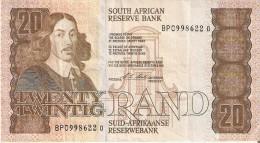 BILLETE DE SURAFRICA DE 20 RAND DE LOS AÑOS 1990-1994 (BANKNOTE) - Suráfrica