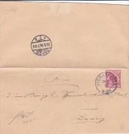 Pologne, Lettre De SIERAKOWITZ 1898 (p25) - Covers & Documents
