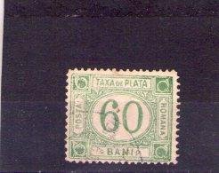 1898 - TIMBRE - TAXE(PORTOMARKEN) Mi No 24 Et Yv No 26   Filigranes PR  ERREUR Xxx - Portomarken
