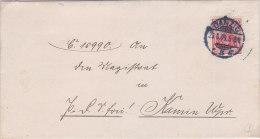 Pologne,lettre De GDANSK ( DANZIG) , 1909  (p33) - Covers & Documents