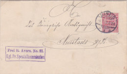 Pologne,lettre De GDANSK ( DANZIG) ,franchise, 1908  (p34) - Covers & Documents