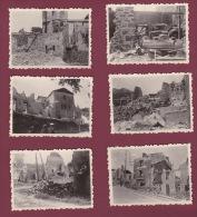 87 - 090514 - !! 6 PHOTOS ORADOUR SUR GLANE !! -  10 JUIN 1944 - Ruines Commerce Bières Narcisse MAPATAUD - Oradour Sur Glane