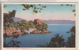 CASTELLO DI PARAGGI SANTA MARGHERITA LIGURE GENOVA -VG 1940- ORIGINALE D´EPOCA 100% - Genova (Genoa)