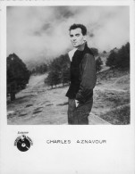Charles Aznavour *18 X 14 Cm - Foto's