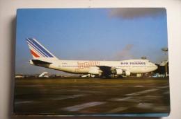 B 747 100   AIR FRANCE JUMBO  F BVPL   EDITION PI N°  890 - 1946-....: Era Moderna