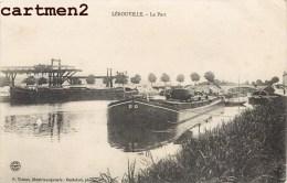 LEROUVILLE LE PORT PENICHE BATELLERIE 55 MEUSE - Lerouville