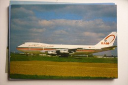 B 747 200   ROYAL AIR MAROC   CN RME           EDITION PI N°  468 - 1946-....: Moderne