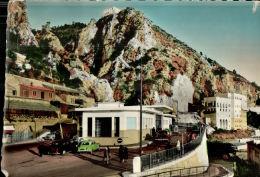 CPSM MENTON , Les Douanes Française Et Italienne , Frontiére En 1957 - Menton