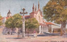 Nice.  -  Monastère  De  Cimiez;   (met Plakkers)  1938  Naar Bruxelles - Monumenten, Gebouwen