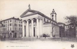 Nice.  -  Notre Dame Du Port;  1900  (met Plakkers) - Monumenten, Gebouwen